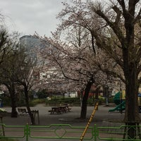 Photo taken at 月島第一児童公園 by Takahiro on 4/6/2017
