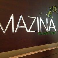 Photo taken at Mazina Restaurant by hazelle B. on 5/5/2013