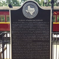 Photo taken at Texas State Railroad Rusk Depot by Claire M. on 5/18/2013
