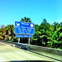 Photo taken at Florida / Georgia State Line by Jeremy S. on 3/14/2013