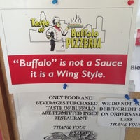 Photo taken at Taste Of Buffalo Pizzeria by Brittany R. on 5/10/2013