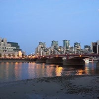 Photo taken at Vauxhall Bridge by Emil A. on 6/7/2013