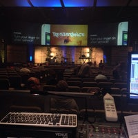 Photo taken at The Avenue Church (NEW) by Jason C. on 11/30/2014