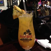Photo taken at Hard Rock Cafe Boston by Ananda L. on 2/2/2013