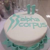 Photo taken at Alpha Corpus Espaco de Beleza by Silmara F. on 4/25/2014