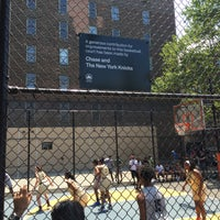 Photo taken at West 4th Street Courts (The Cage) by Fabrizio B. on 6/25/2016