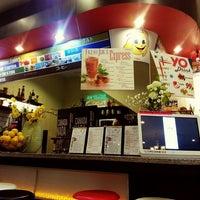 Photo taken at See Sun Yogurt and Juice Bar by Jana Nikki A. on 1/10/2014