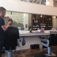 Photo taken at Rudy's Barbershop by Ryan S. on 4/30/2014
