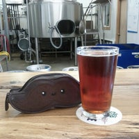 Photo taken at Oakshire Brewing by Elizabeth V. on 9/29/2012