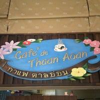 Photo taken at Café de Thaan Aoan by Freda on 12/28/2012