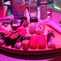 Photo taken at Sushi Cat by Женечка В. on 4/30/2013