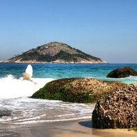 Photo taken at Praia de Grumari by Vander S. on 5/16/2013
