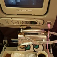 Photo taken at Malaysia Airlines (MH) Check-In Area by Yin P. on 4/30/2016