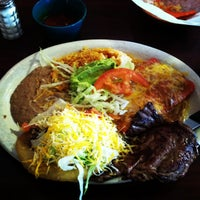 Photo taken at El Sabrosito Mexican Restaurant by Maria M. on 4/22/2013