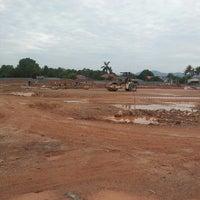 Photo taken at tapak projek sekolah sukan malaysia terengganu by red c. on 7/18/2013