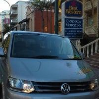 Photo taken at Best Western Ensenada Motor Inn & Suites by Ambler T. on 4/20/2015