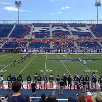 Photo taken at FAU Football Stadium by Christopher W. on 9/21/2013