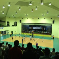 Photo taken at Social Centre Indoor Court by Uchiha T. on 11/30/2015