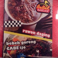 Photo taken at Bebek Bandar by Bagus S. on 3/2/2014