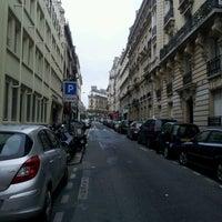 Photo taken at Rue de Liège by Bismark O. on 11/4/2012