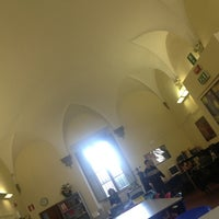 Photo taken at Biblioteca Villa Bandini by Francesca A. on 3/15/2013