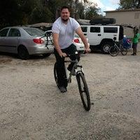 Photo taken at Kyle's Bike Shop by Kim O. on 2/9/2013