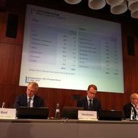 Photo taken at Deutsche Bundesbank by Mehmet K. on 3/13/2014