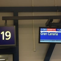 Photo taken at Gate 19 by Vitaliy F. on 11/10/2012