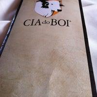 Photo taken at Cia do Boi by Adriano F. on 12/1/2012