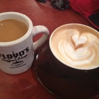 Photo taken at Floyd's Coffee Shop by Kristen C. on 5/13/2013