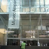 Photo taken at Museo Amparo by Payoo P. on 4/8/2013