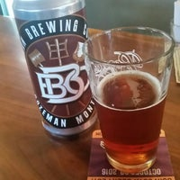 Photo taken at Bozeman Brewing Company by Mark W. on 10/26/2016