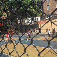 Photo taken at West 4th Street Courts (The Cage) by Tom M. on 8/6/2018