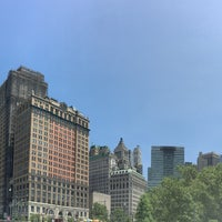 Photo taken at Battery Park City by Tom M. on 5/21/2017