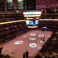 Photo taken at SAP Center by Melissa P. on 3/15/2013