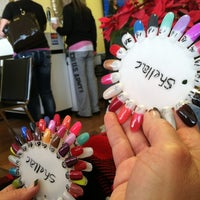 Photo taken at Sally's Nails by John C. on 3/18/2013