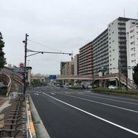 Photo taken at 大森海岸駅前歩道橋 by けにえる 隅. on 10/14/2017