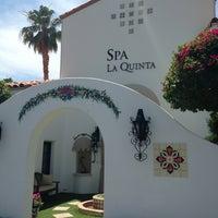 Photo taken at Spa La Quinta by Signe B. on 5/14/2013