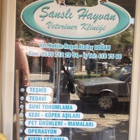 Photo taken at Şanslı Hayvan Veteriner Kliniği by Sedat O. on 9/13/2013