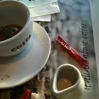 Photo taken at Costa Coffee by Danail Y. on 12/22/2013