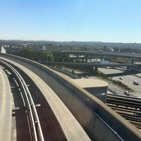 Photo taken at SFO AirTrain Station - Garage A by Paul B. on 9/19/2013