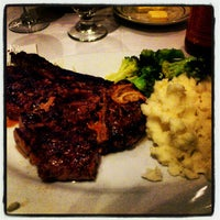Photo taken at Ben and Jack's Steakhouse by Irinka T. on 10/20/2012