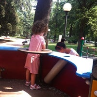 Photo taken at Parco del Popolo by Michele R. on 7/2/2014