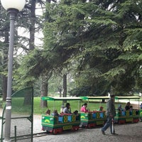 Photo taken at Parco del Popolo by Michele R. on 4/25/2015