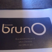 Photo taken at BrunO by Robbe V. on 4/2/2013