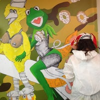 Photo taken at galerie frais peint by Natalie T. on 3/2/2014
