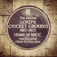 Photo taken at Lord's Cricket Ground (MCC) by Meandering W. on 10/4/2012