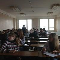 Photo taken at Аудитория 606/2 (МГУПП) by Zafar on 10/30/2012