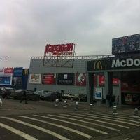 Photo taken at Karavan Mall by Bogdan on 11/29/2012