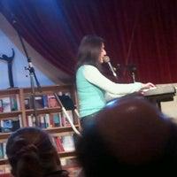 Photo taken at El Pequeño Teatro De Los Libros http://www.teatrodeloslibros.net by Santi H. on 3/16/2013